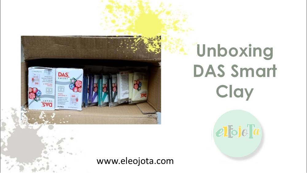unboxing das smart clay